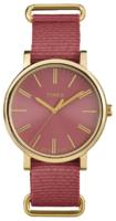 Timex Weekender Naisten kello TW2P78200 Punainen/Kullansävytetty