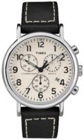 Timex Weekender Miesten kello TW2R42800 Valkoinen/Nahka Ø40 mm