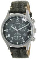 Timex 99999 Miesten kello TW2R68600 Vihreä/Nahka Ø42 mm