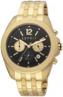Esprit 99999 Miesten kello ES1G159M0085 Musta/Kullansävytetty teräs