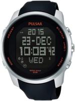 Pulsar Sport Miesten kello PQ2049X1 LCD/Kumi Ø47 mm