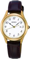 Seiko Classic Naisten kello SUR638P1 Valkoinen/Nahka Ø29 mm