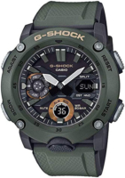 Casio G-Shock Miesten kello GA-2000-3AER Musta/Muovi Ø48.7 mm