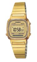 Casio Collection Naisten kello LA670WEGA-9EF Kullansävytetty teräs