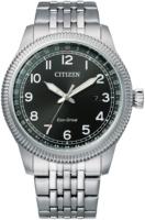 Citizen Eco Drive 180 Miesten kello BM7480-81E Musta/Teräs Ø43 mm