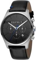 Esprit 99999 Miesten kello ES1G053L0025 Musta/Nahka Ø42 mm