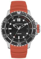 Nautica Analog Miesten kello NAD18518G Musta/Kumi Ø48 mm