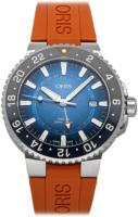 Oris Diving Miesten kello 01 798 7754 4185-Set RS Sininen/Kumi Ø43.5