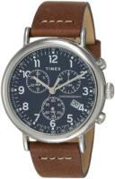 Timex 99999 Miesten kello TW2T68900 Sininen/Nahka Ø41 mm