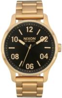Nixon 99999 Miesten kello A1242513-00 Musta/Kullansävytetty teräs