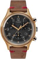 Timex 99999 Miesten kello TW2R96300 Musta/Nahka Ø41 mm
