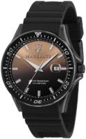 Maserati Sfida Miesten kello R8851140001 Musta/Kumi Ø44 mm