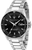 Maserati Sfida Miesten kello R8853140002 Musta/Teräs Ø44 mm