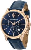Maserati Epoca Miesten kello R8871618007 Sininen/Nahka Ø42 mm