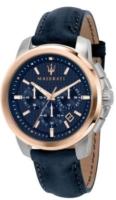 Maserati Successo Miesten kello R8871621015 Sininen/Nahka Ø44 mm