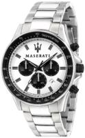 Maserati Sfida Miesten kello R8873640003 Valkoinen/Teräs Ø44 mm