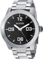 Nixon 99999 Miesten kello A346000-00 Musta/Teräs Ø48 mm