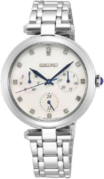 Seiko Classic Naisten kello SKY663P1 Valkoinen/Teräs Ø32 mm