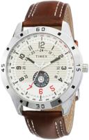 Timex 99999 Miesten kello TI000U90000 Valkoinen/Nahka Ø45 mm