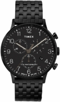 Timex The Waterbury Miesten kello TW2R72200 Musta/Teräs Ø40 mm