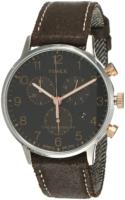 Timex The Waterbury Miesten kello TW2T71500 Musta/Nahka Ø40 mm