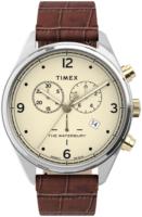Timex The Waterbury Miesten kello TW2U04500 Beige/Nahka Ø42 mm