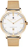 Gant 99999 Miesten kello G109009 Valkoinen/Kullansävytetty teräs