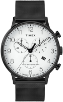 Timex The Waterbury Miesten kello TW2T36800 Valkoinen/Teräs Ø40 mm