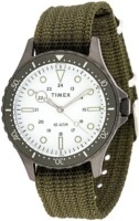 Timex Navi Miesten kello TW2T75500 Valkoinen/Tekstiili Ø41 mm