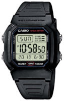 Casio Collection Miesten kello W-800H-1AVES Muovi 44.2x36.8 mm