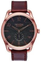 Nixon 99999 Miesten kello A4651890-00 Musta/Nahka Ø45 mm