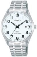 Pulsar 99999 Miesten kello PS9559X1 Valkoinen/Teräs Ø39 mm