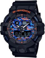 Casio G-Shock Miesten kello GA-700CT-1AER Sininen/Muovi Ø53.4 mm